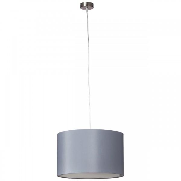 Brilliant 93374/22 Clarie Pendelleuchte 40cm Metall/Textil schoene lampenwelt