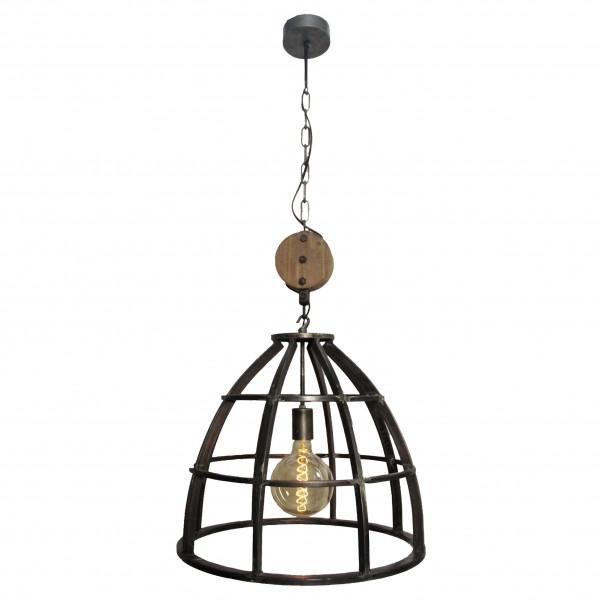 Brilliant 93400/13 Century Pendelleuchte 47cm Metall/Holz LED Lampen