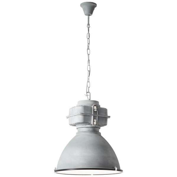 Brilliant 93444/70 Anouk Pendelleuchte 48cm (Glas) Metall/Glas schoene lampenwelt