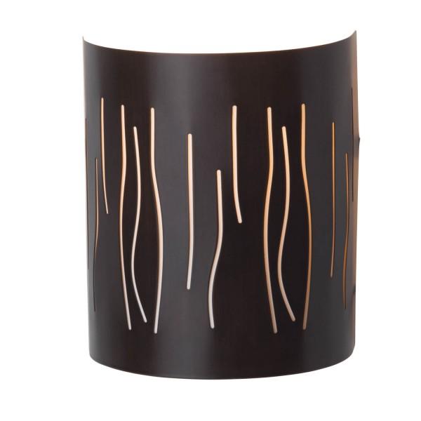 Brilliant 93461/20 Kinley Wandhalbschale Metall/Kunststoff LED Lampen