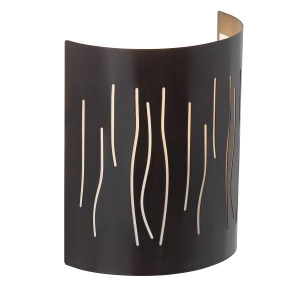 Brilliant 93461/20 Kinley Wandhalbschale Metall/Kunststoff schoene lampenwelt