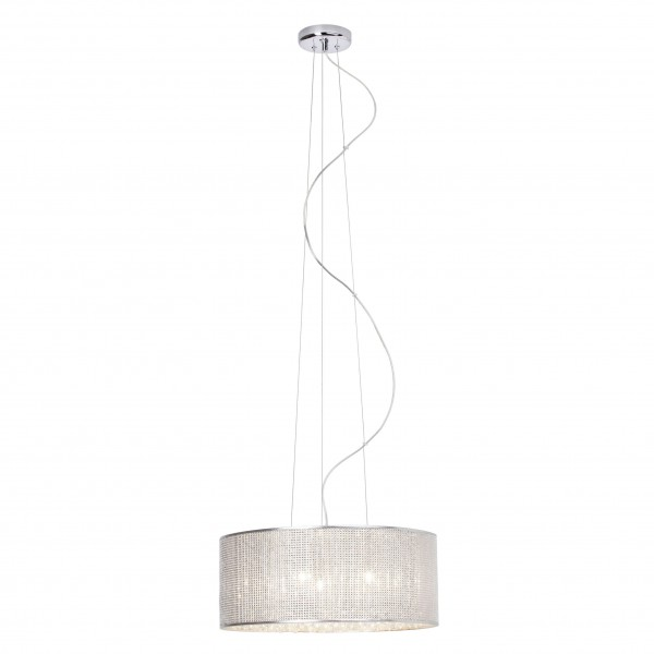 Brilliant 93532/15 Dubai Pendelleuchte 43cm Metall/Glas LED Lampen