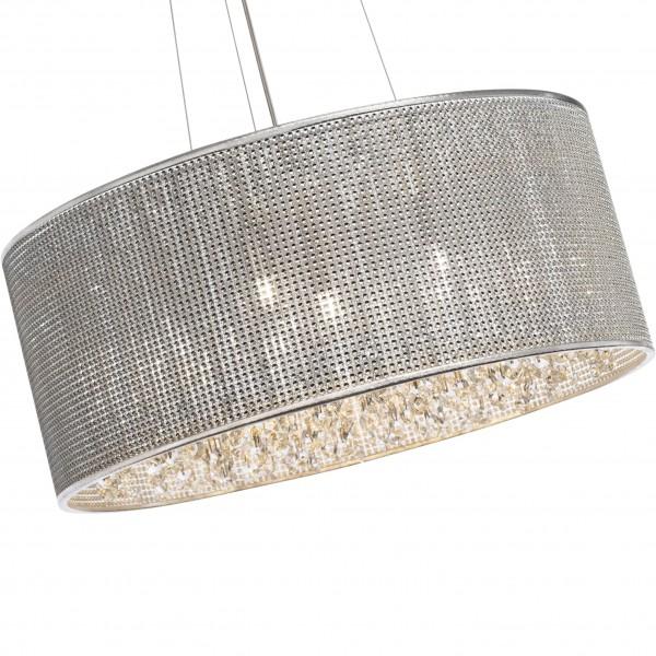 Brilliant 93532/15 Dubai Pendelleuchte 43cm Metall/Glas Leuchten
