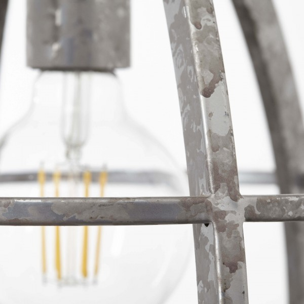Brilliant 93565/43 Century Pendelleuchte, 2-flammig Metall/Holz Beleuchtung