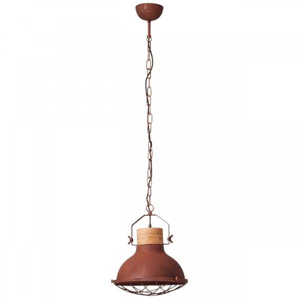 Brilliant 93571/55 Emma Pendelleuchte 33cm Metall/Holz schoene lampenwelt