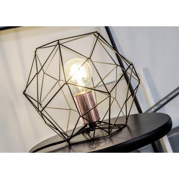Brilliant 93593/76 Synergy Tischleuchte Metall schoene lampenwelt