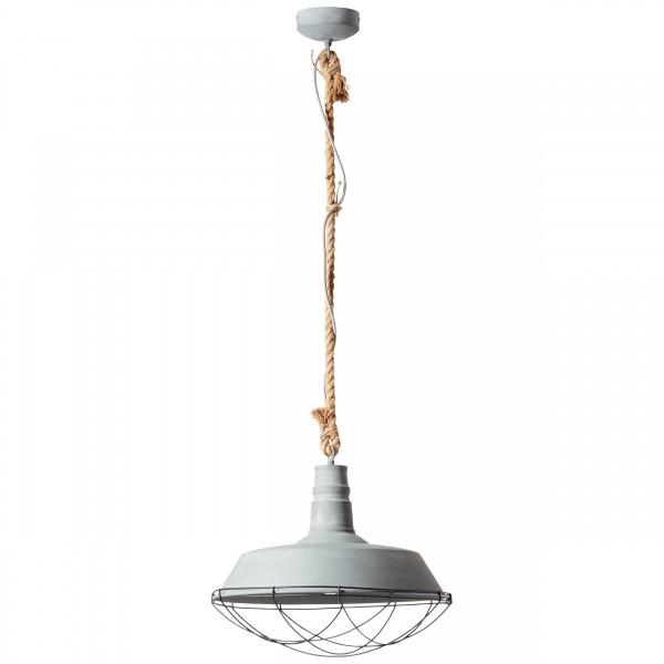 Brilliant 93614/70 Rope Pendelleuchte 47cm Metall Beleuchtung