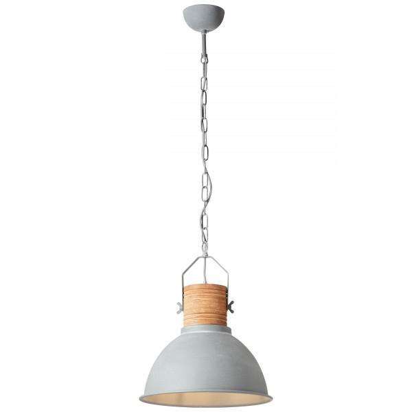 Brilliant 93630/70 Frida Pendelleuchte 39cm Metall/Holz LED Lampen