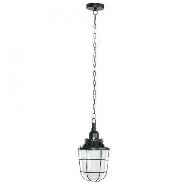 Brilliant 93652/06 Storm Pendelleuchte 21cm Metall/Glas LED Lampen