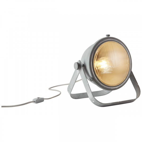 Brilliant 93682/70 Bo Tischleuchte (Glas) Metall/Glas LED Lampen