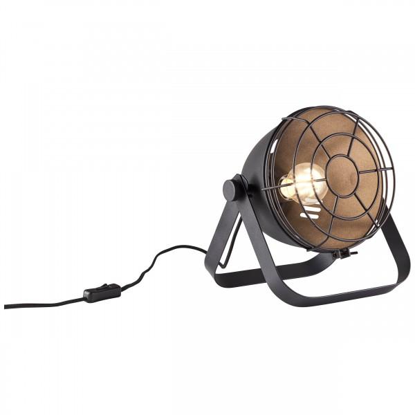 Brilliant 93683/06 Bo Tischleuchte (Gitter) Metall LED Lampen