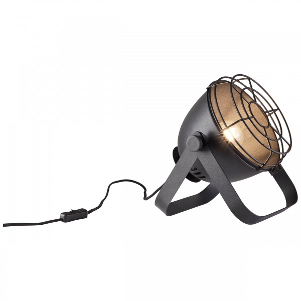 Brilliant 93683/06 Bo Tischleuchte (Gitter) Metall schoene lampenwelt
