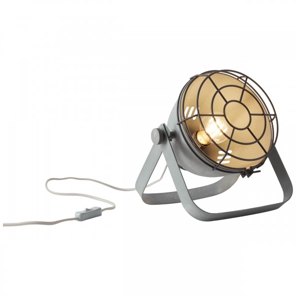 Brilliant 93683/70 Bo Tischleuchte (Gitter) Metall LED Lampen