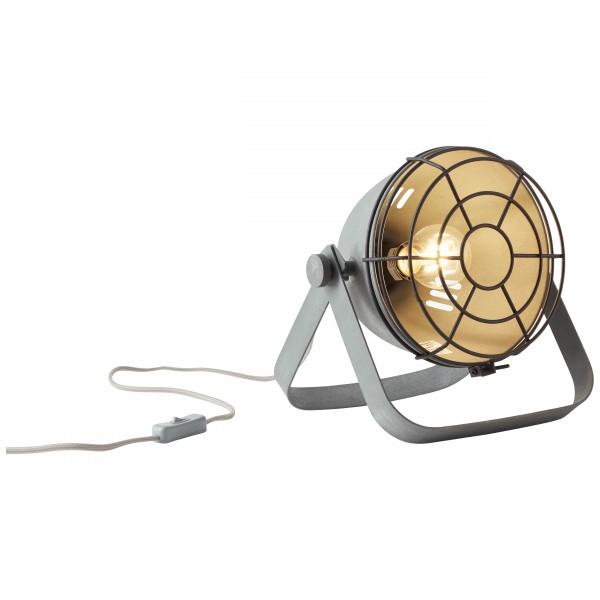 Brilliant 93683/70 Bo Tischleuchte (Gitter) Metall Beleuchtung