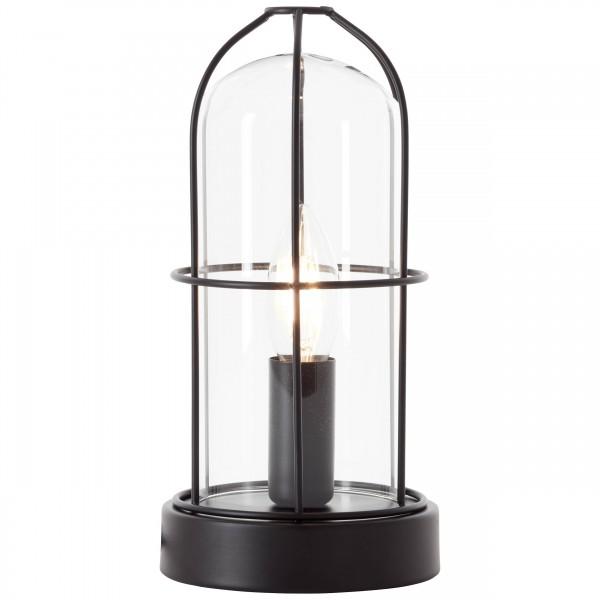 Brilliant 93686/06 Storm Tischleuchte Metall/Glas schoene lampenwelt