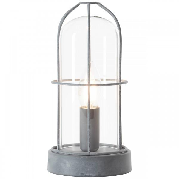 Brilliant 93686/70 Storm Tischleuchte Metall/Glas Leuchten