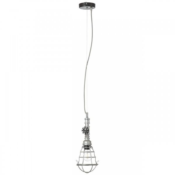 Brilliant 93704/43 Pipe Pendelleuchte, 1-flammig Metall schoene lampenwelt