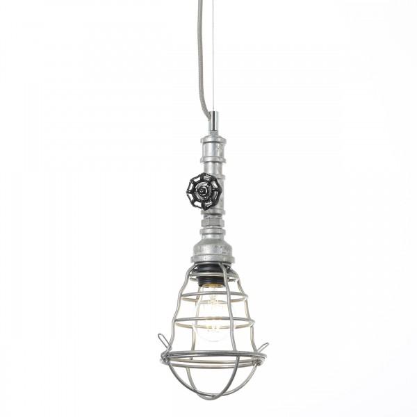 Brilliant 93704/43 Pipe Pendelleuchte, 1-flammig Metall Leuchten