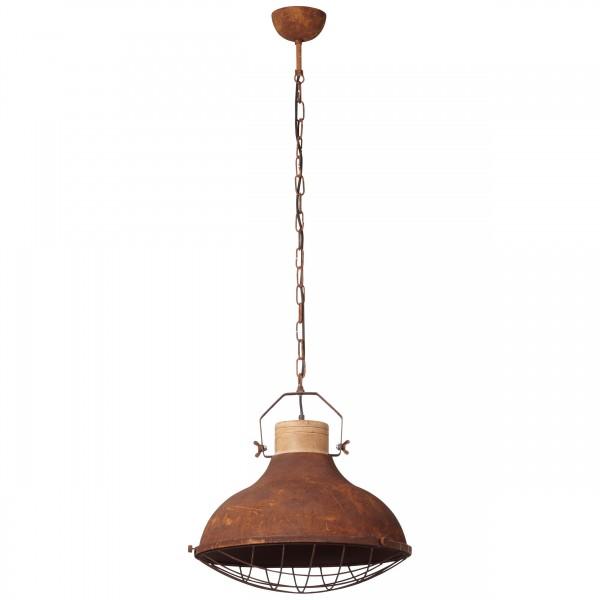 Brilliant 93753/60 Charo Pendelleuchte 48cm Metall/Holz schoene lampenwelt