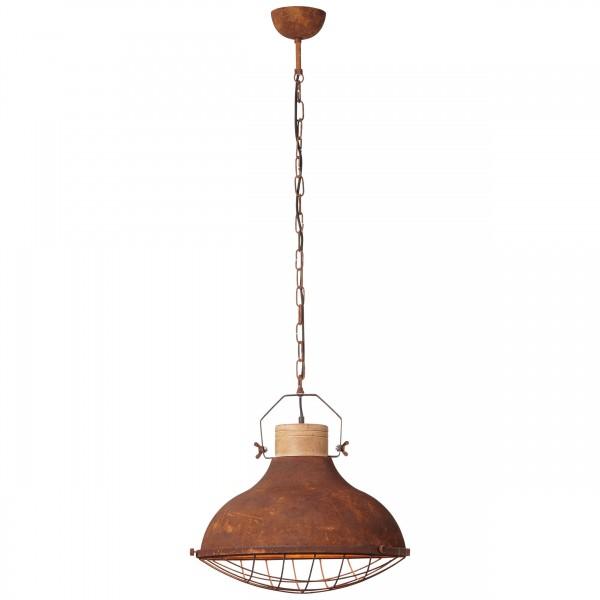 Brilliant 93753/60 Charo Pendelleuchte 48cm Metall/Holz Leuchten