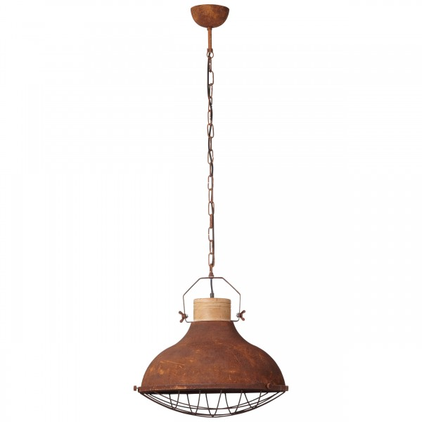 Brilliant 93753/60 Charo Pendelleuchte 48cm Metall/Holz Beleuchtung