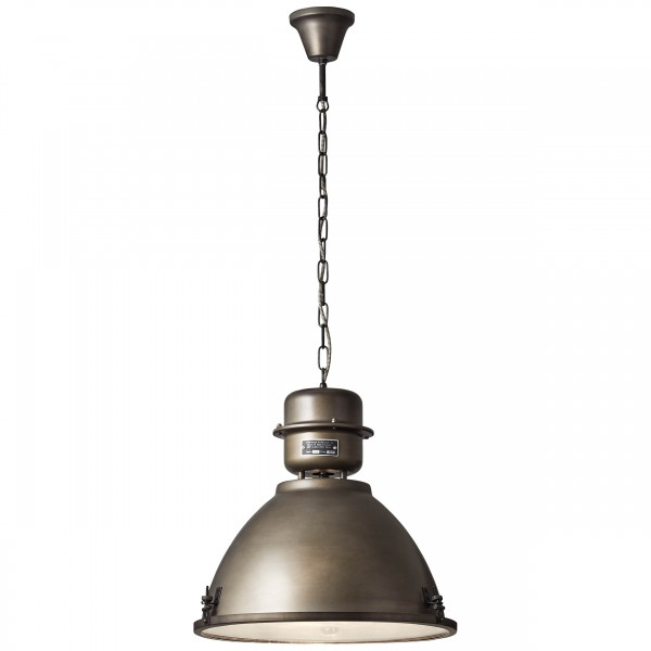 Brilliant 93758/46 Kiki Pendelleuchte 48cm Metall/Glas LED Lampen