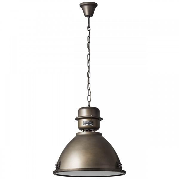 Brilliant 93758/46 Kiki Pendelleuchte 48cm Metall/Glas schoene lampenwelt