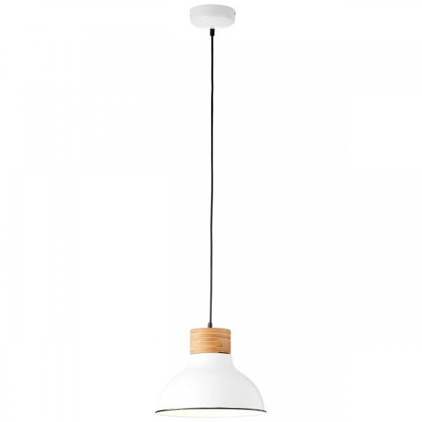 Brilliant 93791/05 Pullet Pendelleuchte 31cm Metall/Holz LED Lampen