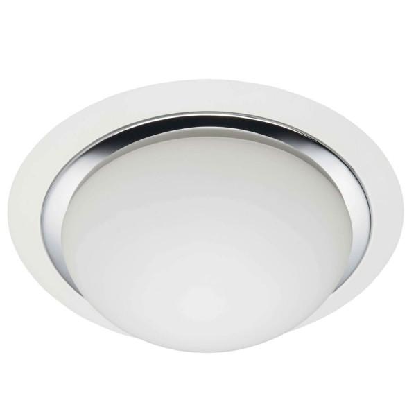 Brilliant 93851/75 Magnolia Deckenleuchte 29cm Metall/Glas LED Lampen