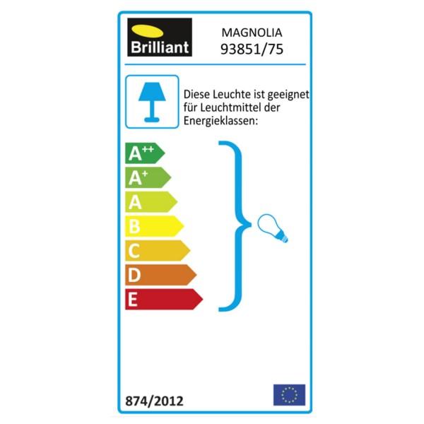 Brilliant 93851/75 Magnolia Deckenleuchte 29cm Metall/Glas schoene lampenwelt