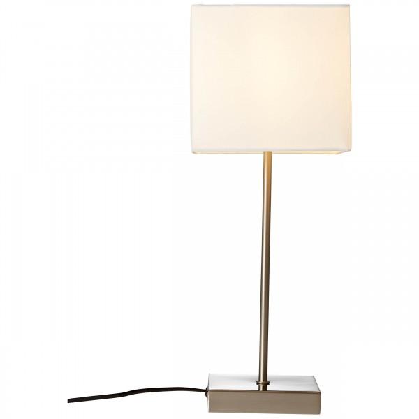 Brilliant 94873/05 Aglae Tischleuchte mit Touchschalter Metall/Textil LED Lampen
