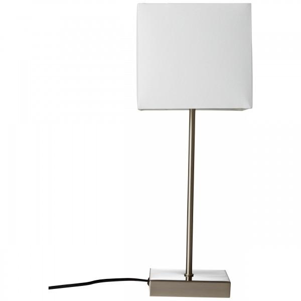 Brilliant 94873/05 Aglae Tischleuchte mit Touchschalter Metall/Textil schoene lampenwelt