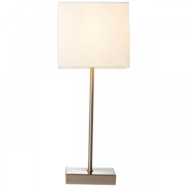 Brilliant 94873/05 Aglae Tischleuchte mit Touchschalter Metall/Textil Leuchten