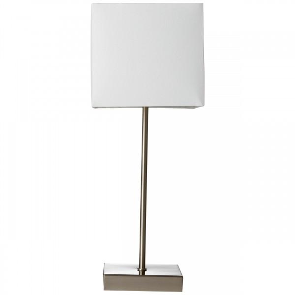 Brilliant 94873/05 Aglae Tischleuchte mit Touchschalter Metall/Textil Beleuchtung