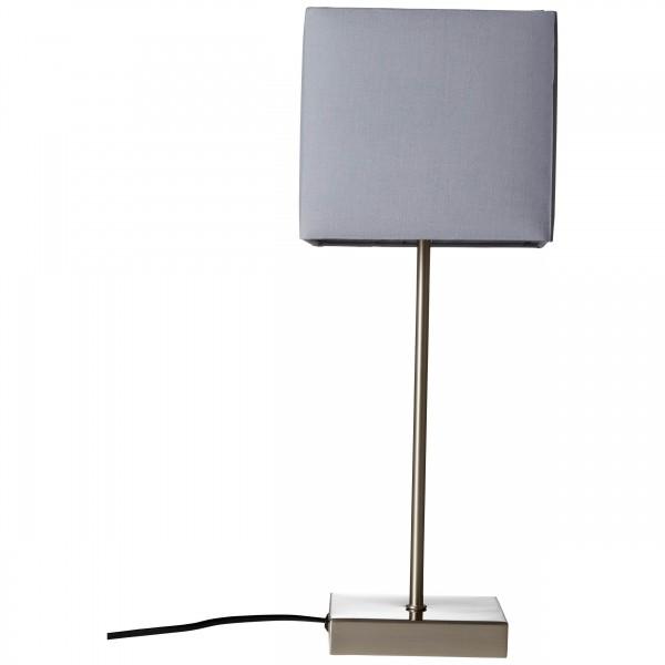 Brilliant 94873/22 Aglae Tischleuchte mit Touchschalter Metall/Textil schoene lampenwelt