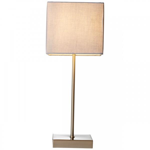 Brilliant 94873/22 Aglae Tischleuchte mit Touchschalter Metall/Textil Leuchten