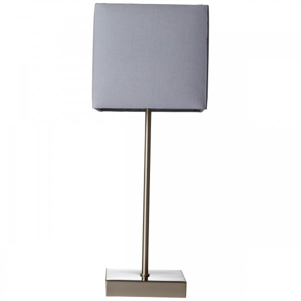 Brilliant 94873/22 Aglae Tischleuchte mit Touchschalter Metall/Textil Beleuchtung