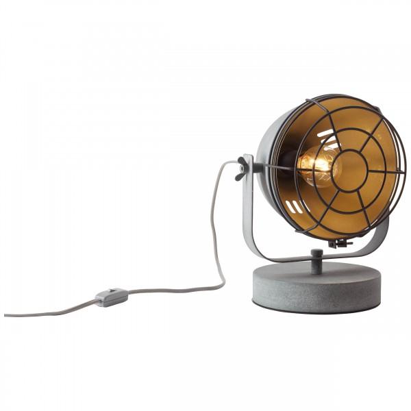 Brilliant 94927/70 Carmen Tischleuchte 31cm (Gitter) Metall LED Lampen