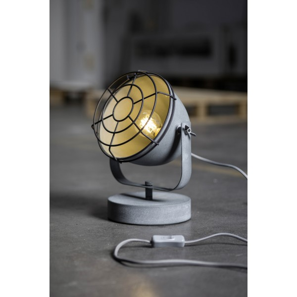Brilliant 94927/70 Carmen Tischleuchte 31cm (Gitter) Metall Beleuchtung