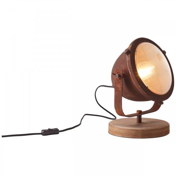 Brilliant 94928/60 Carmen Tischleuchte Metall/Holz schoene lampenwelt