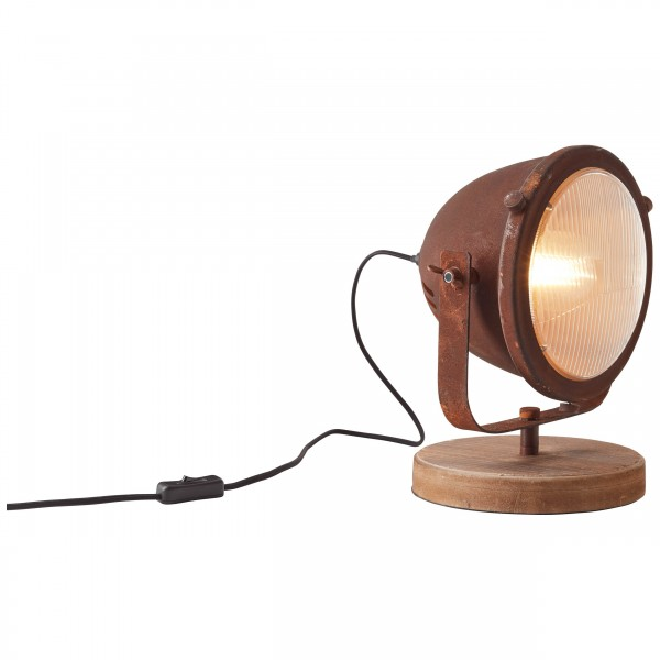 Brilliant 94928/60 Carmen Tischleuchte Metall/Holz Leuchten
