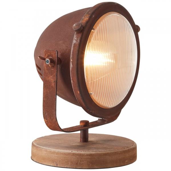Brilliant 94928/60 Carmen Tischleuchte Metall/Holz Beleuchtung