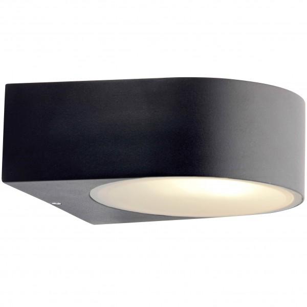 Brilliant 96104/06 Tyler Aussenwandleuchte Metall/Glas LED Lampen