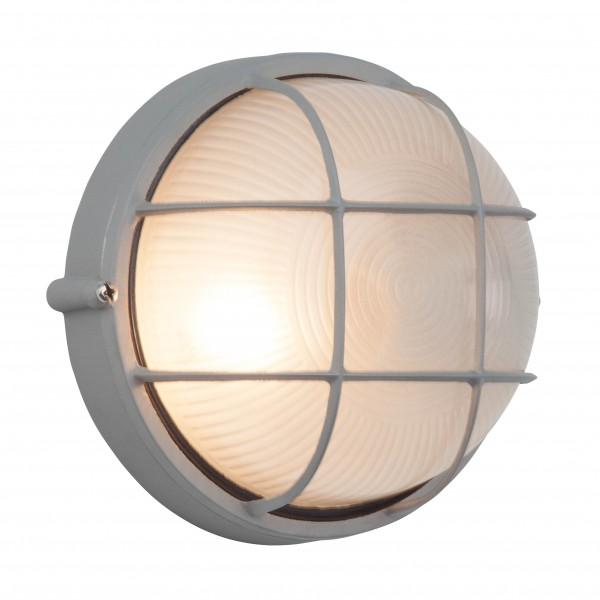 Brilliant 96105/11 Jerry Aussenwand- und Deckenleuchte 18cm Metall/Glas LED Lampen