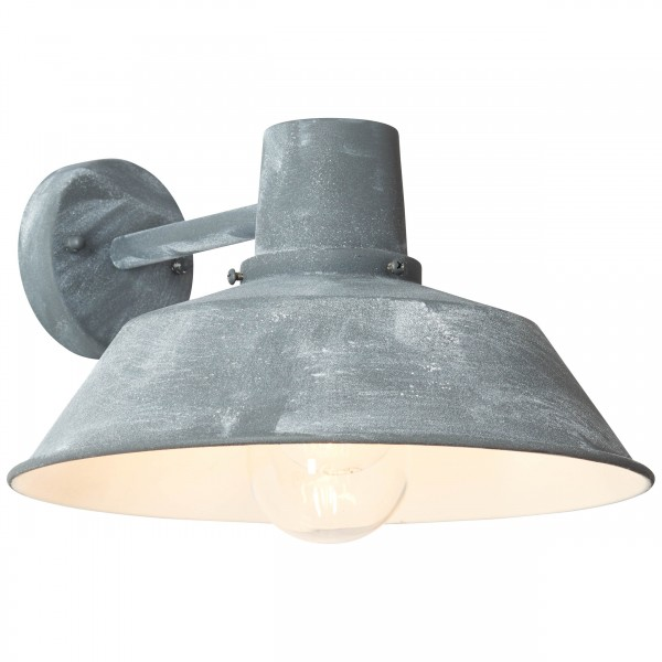 Brilliant 96290/70 Humphrey Aussenwandleuchte, haengend Metall/Glas LED Lampen