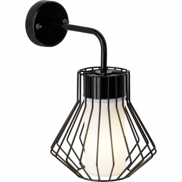 Brilliant 96326/76 Dalmext Aussenwandleuchte, haengend Metall/Kunststoff LED Lampen