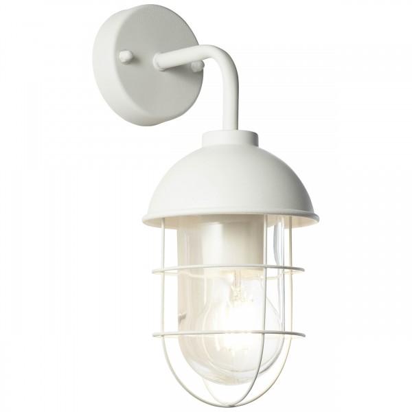 Brilliant 96348/05 Utsira Aussenwandleuchte, haengend Metall/Glas LED Lampen