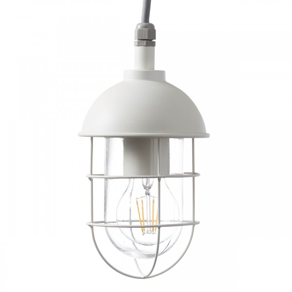 Brilliant 96349/05 Utsira Aussenpendelleuchte Metall/Glas schoene lampenwelt
