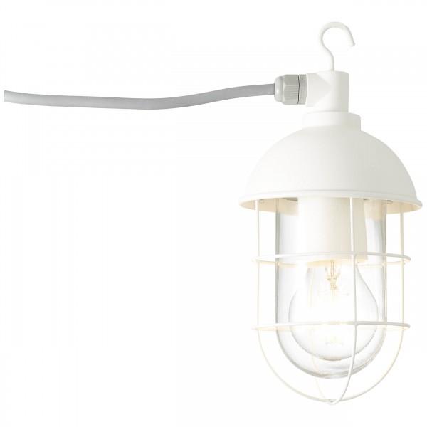 Brilliant 96350/05 Utsira Aussenpendelleuchte mit Zuleitung Metall/Glas LED Lampen