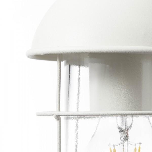 Brilliant 96350/05 Utsira Aussenpendelleuchte mit Zuleitung Metall/Glas Beleuchtung